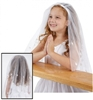 Irish First Communion Veil