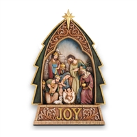 Nativity Figurine with Joy