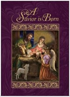 A Savior is Born Christmas Card