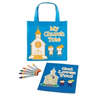 My Church Tote Coloring Set
