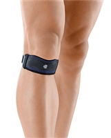 Bauerfeind 12042400070002, BAUERFEIND GENUPOINT KNEE STRAP Knee Strap, Black, Size 2 (DROP SHIP ONLY), EA