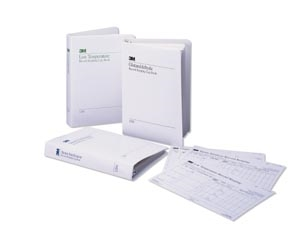 "3M Health Care 1254E-S, 3M COMPLY RECORD KEEPING SYSTEM Steam Sterilization Envelope For 1254B Binder, 91/2"" x 111/2"", 100/pk, 5 pk/cs, CS"