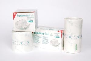 "3M Health Care 16004, 3M TEGADERM TRANSPARENT FILM ROLL Dressing, Transparent Film Roll, 4"" x 11 yds, 4 rl/cs, CS"