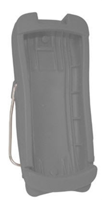 Gray handheld protective boot for use with all Rad-5, Rad-5v, and Rad-57 products