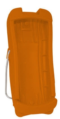 Orange handheld protective boot for use with all Rad-5, Rad-5v, and Rad-57 products
