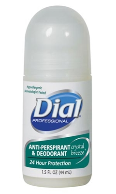 Dial Corporation 2340007686, DIAL ANTIPERSPIRANT/DEODORANT Deodorant, Roll On, APDO, Scented, 1.5 oz, 48/cs (112 cs/plt), CS