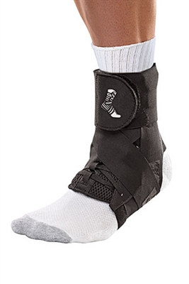 Mueller Sports Medicine, Inc. 48882, MUELLER THE ONE ANKLE BRACE Black, Medium (In retail pkg) (Products are only available for sale in the U.S. Products cannot be sold on Amazon.com or any other 3rd party platform with