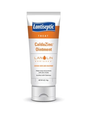 0606, DERMARITE LANTISEPTIC DAILY CARE SKIN PROTECTANT CaldaZinc Ointment, 4 oz Tube, 12/cs, cs
