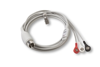 ZOLL 8000-0025-02, REPLACEMENT 3-LEAD ECG PATIENT CABLE (6 FT), Replacement 3-Lead ECG Patient Cable, 6 Ft. (Ships Standard with EMS M Series )