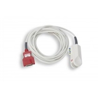 ZOLL 8000-0335, RED DCIP-DC12, 12FT PEDIATRIC REUSABLE PATIENT CABLE, SENSOR, SpO2 Rainbow DCI Pediatric Reusable Patient Cable, Sensor (12 Ft) (Red 12' DCI Pediatric Reusable Patient Cable, Sensor)