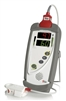 9199 Masimo Rad-5v Handheld Pulse Oximeter. Includes LNC-4 Patient Cable and LNCS adhesive sensor sample pack.