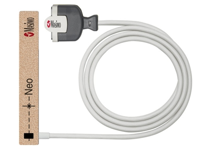 2515 Masimo, M-LNCS Neo-3, Adult/Neonatal SpO2 Adhesive Sensor, 3 ft. Single Patient Use 20/Bx