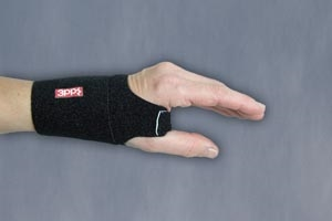 3 Point Products P3008-34BK, 3 POINT PRODUCTS WRIST WRAP Wrist Wrap, Medium/ Large, Black (MP-082026), EA