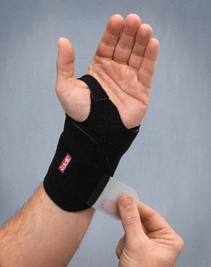 3 Point Products P3018-34, 3 POINT PRODUCTS WRIST WRAP NP Wrist Wrap, Medium/ Large, Black (MP-083868), EA
