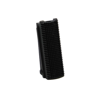 Officers Carbon Steel Mainspring Housing Checkered