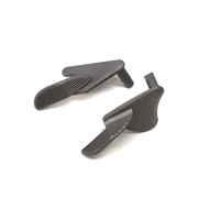Tactical Wide Ambi Paddle Thumb Safety Stainless Steel