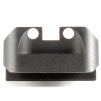 1911 Novak Rear Sight, White Dot