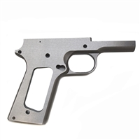 Remsport 1911 80% Government Frame Stainless Non Checkered