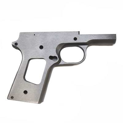 Remsport 1911 80% Officers Frame Stainless Non Checkered