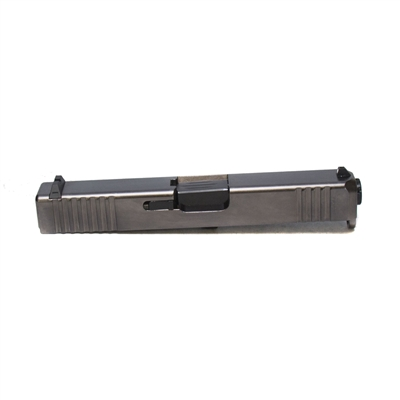 Remsport *Obsidian* G19 Slide Assembly with Front and Rear Serrations
