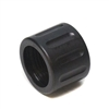 Fluted Black Low Profile Thread Protector 1/2x28