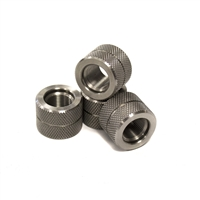 Knurled 1/2x28 Rifle Thread Protector