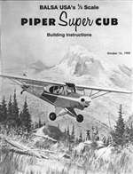 1/3 Scale Super Cub Instruction Manual only