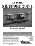 1/6 Scale Nieuport 28 C-1 Digital Manual