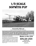 1/3 Sopwith Pup Digital Manual