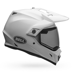 Bell MX-9 ADVENTURE Gloss White Helmet with MIPS