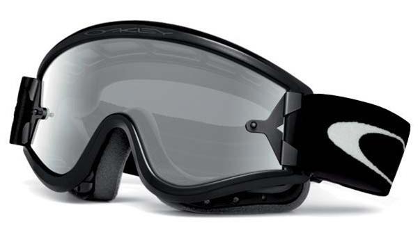 Oakley L Frame OTG MX Goggles Matte Black - Clear