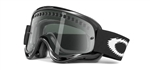 Oakley O-Frame MX Goggles Jet Black - Dark Grey