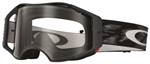 Oakley Airbrake MX Goggles Jet Black Speed - Clear Lens