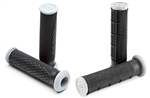 Pro Taper DUAL DENSITY ATV Grips Black-Light Gray