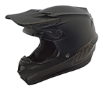 2018 Troy Lee Designs SE4 Polyacrylite MONO Helmet - Black