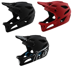 2020 Troy Lee Designs Stage STEALTH Helmets (Matte) - MIPS