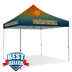 10ft Pop Up Canopy - Full Color-Premium