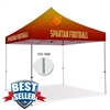 10ft Pop Up Canopy (Steel) - Full Color-Premium