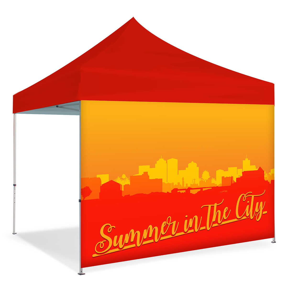 10ft Pop Up Canopy Wall - Full Wall - Single Side