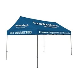 15ft Roof Tent with Aluminum Hardware