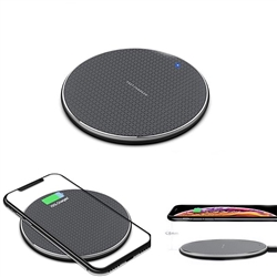 Round Wireless Qi Charging Station