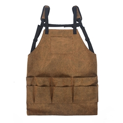 Custom Canvas Tool Apron with Multi Pockets