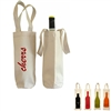 Canvas Tote Wine Bag