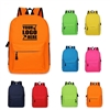 Unisex Canvas School Backpack