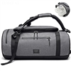 Waterproof Weekender Duffle Bag with Shoe Compartment