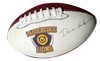 "Custom Synthetic Leather Football - 14"" Size"