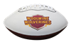 Custom Synthetic Leather Autograph Football - Mid Size