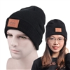 Knit Beanie Cap - Heathered