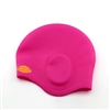 Custom Silicone Swim Cap - Ear Cover Style