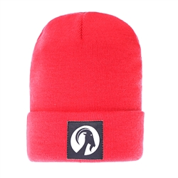 Knitted Beanie Hat - Roll Up Hem